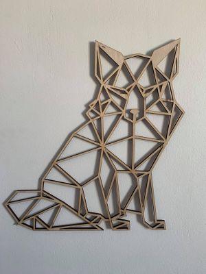 renard deco murale