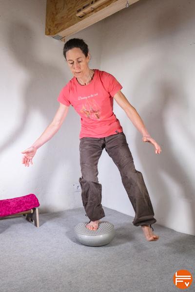 entorses-équilibre-balance disc-escalade