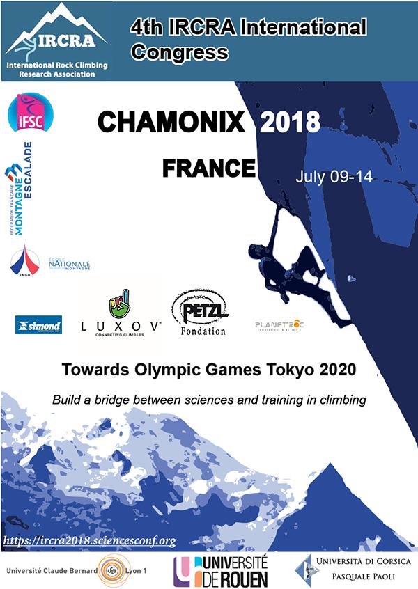 IRCRA 2018 - climbing-research-chamonix