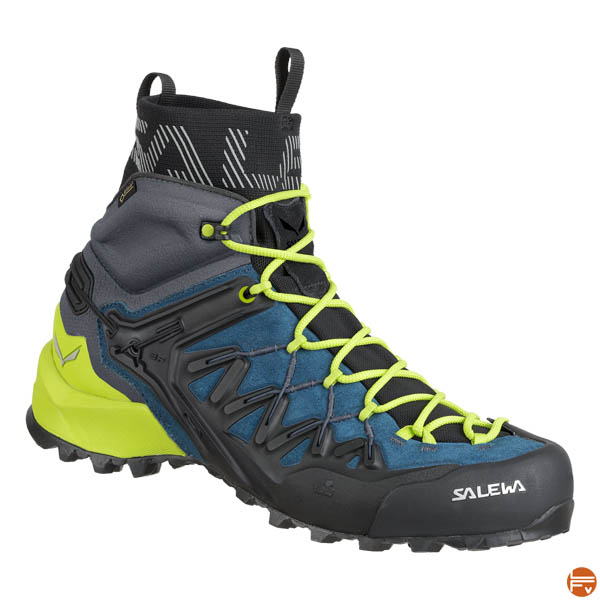 chaussures approche randonnee montagne Salewa_Wildfire_Edge_Mid_GTX_man_color_poseidon
