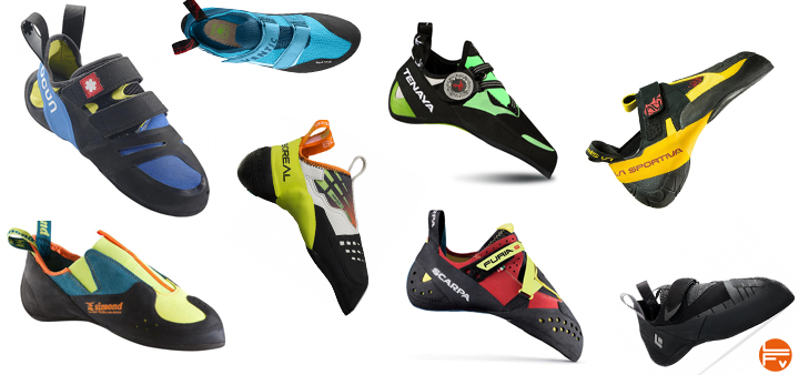 buying climbing shoes
