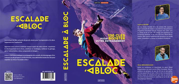 couverture escalade a bloc 130 cles pour booster entrainement livre editions amphora