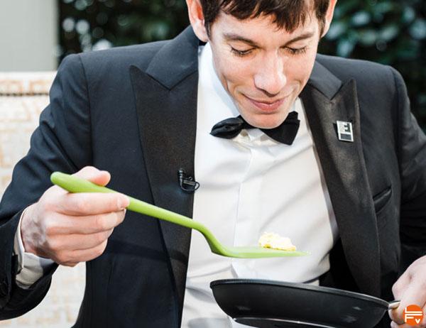 Alex Honnold eating Black-Diamond-April-Fools