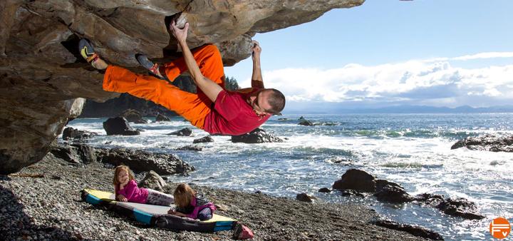 core climbing training