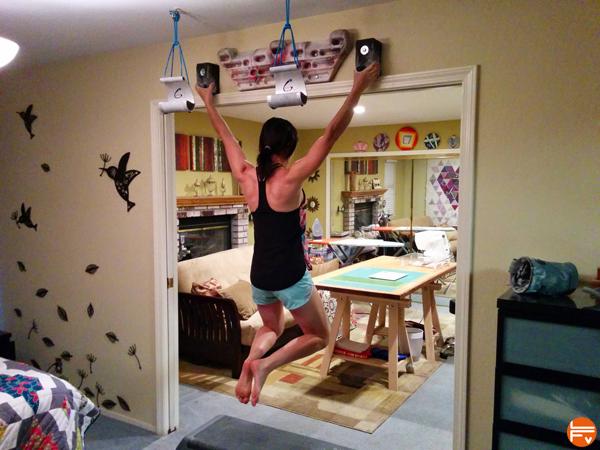 hangboarding home indoor training for climbing