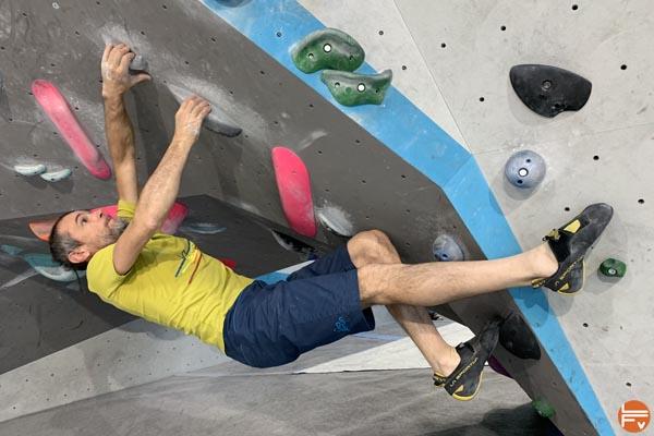 chausson escalade bloc theory ballerine lasportiva grimper