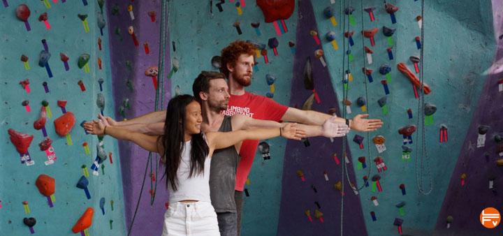 tall vs short climbers