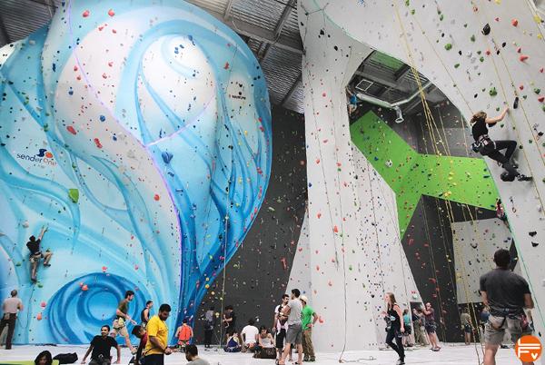 salle escalade americaine sender one escalade en salle sport tendance