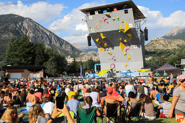 IFSC climbing world cup briancon