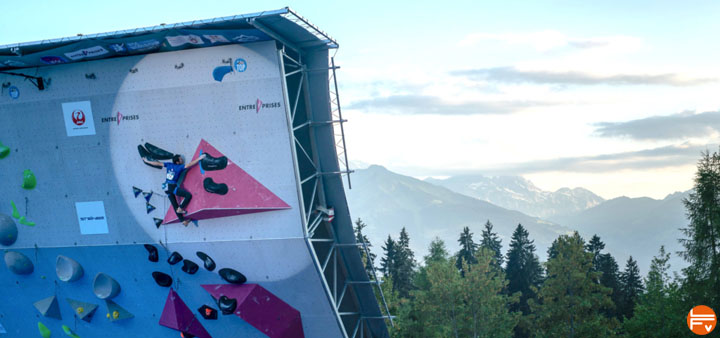 iFSC climbing world cup villars