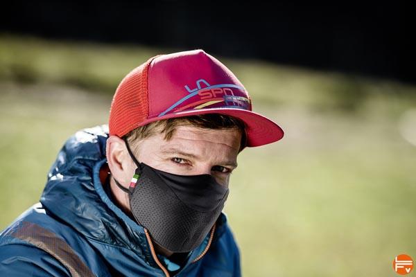 Stratos Mask La sportiva climbing