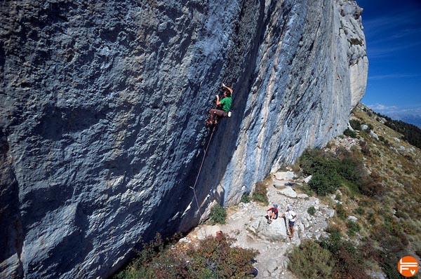escalade falaise ceuse