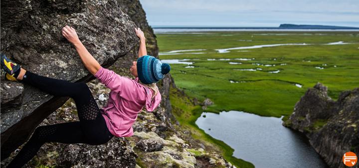 escalade en Islande