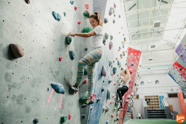plaisir à grimper