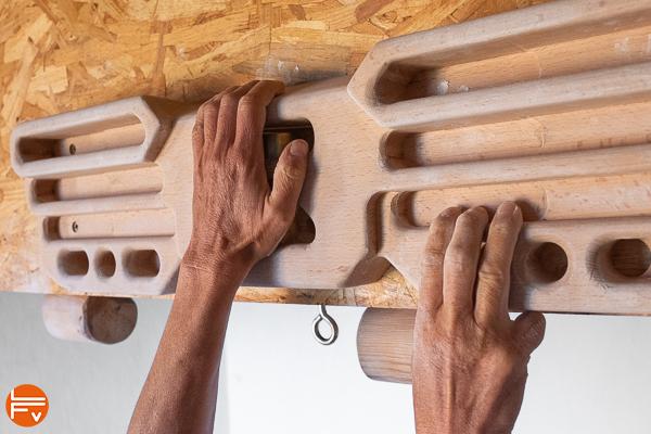 poutre entrainement escalade force doigts artboard