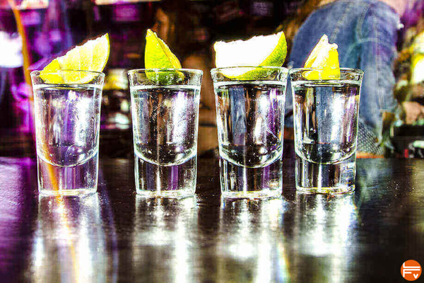 shot vodka alcool consommation en augmentation