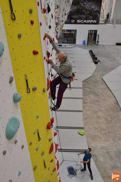 marcel remy escalade grimpe en salle 98 ans