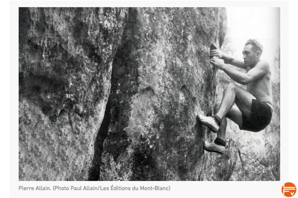 pierre allain pionnier du bloc pure lumiere du rocher