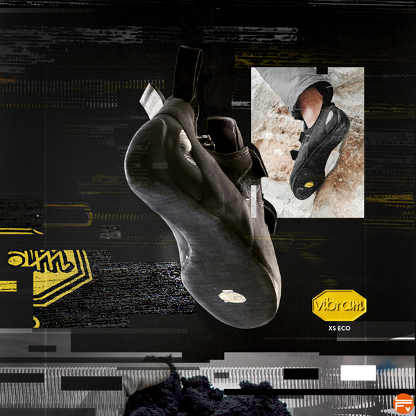 vibram xseco gomme chaussons escalade recyclee ecoresponsable vibram sole factor mobile lab