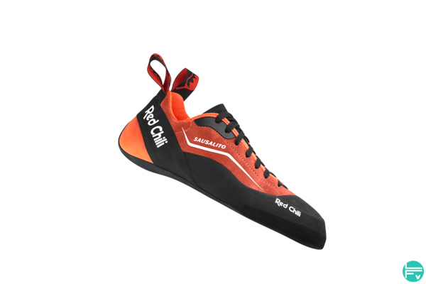 sausalito climbing shoes red chili
