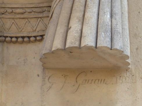 Signature (retour d'Égypte)