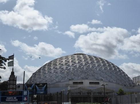 Vue d'ouest (P. Dufau & R. Buckminster Fuller)