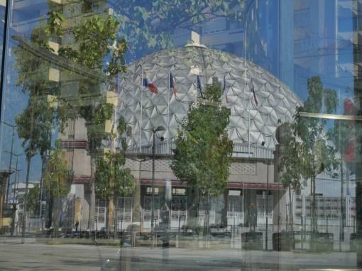 Reflet du Palais (P. Dufau & R. Buckminster Fuller)