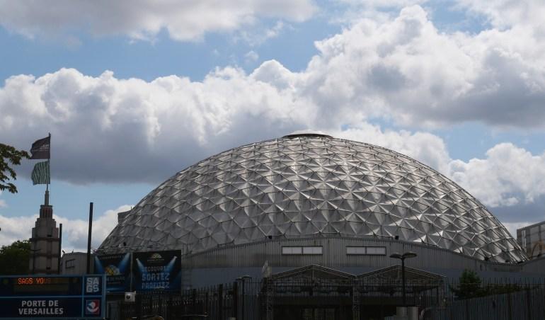 Le Palais, à l'ouest (P. Dufau & R. Buckminster Fuller)