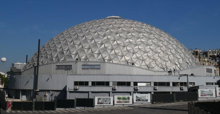 Le Palais, à l'est (P. Dufau & R. Buckminster Fuller)