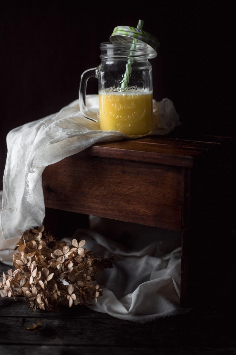 Le Jour-J >>> Jus ananas, chou blanc et citron