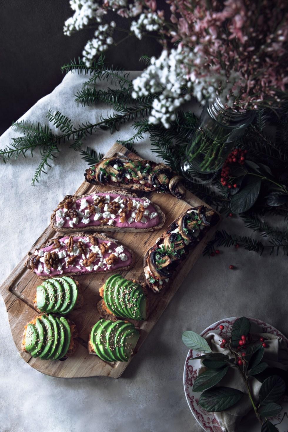 Toast de Noël - Pain aux noix Laurent Lachenal | www.lafaimestproche.com