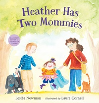"Copertina del libro ""Heather has two mommies"""