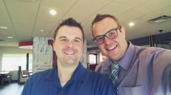 My friend Matt from NBBI!