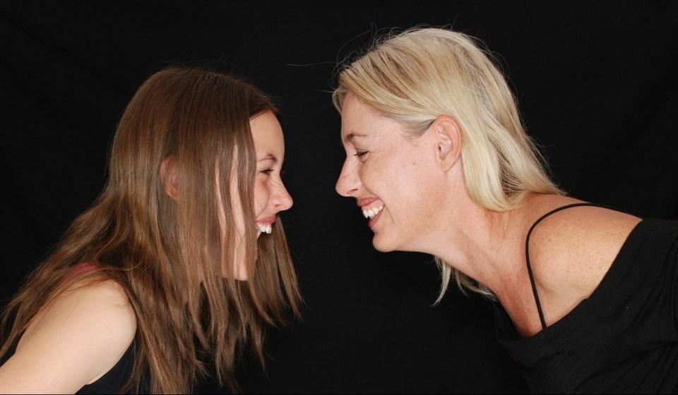 rires mère-fille