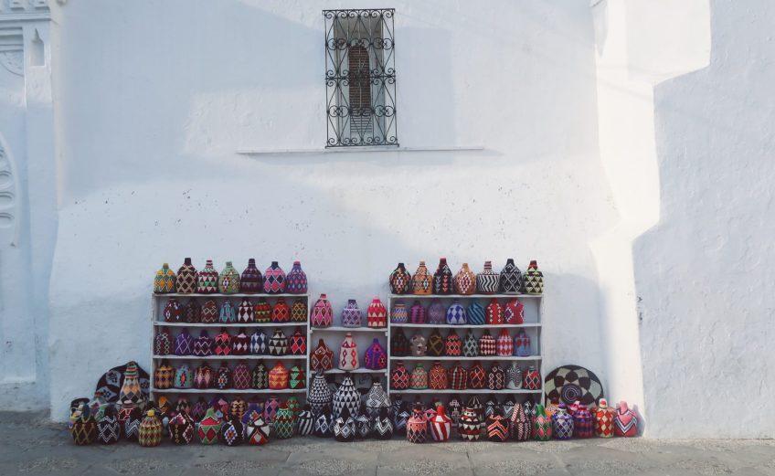 Artisanat à Assilah au Maroc