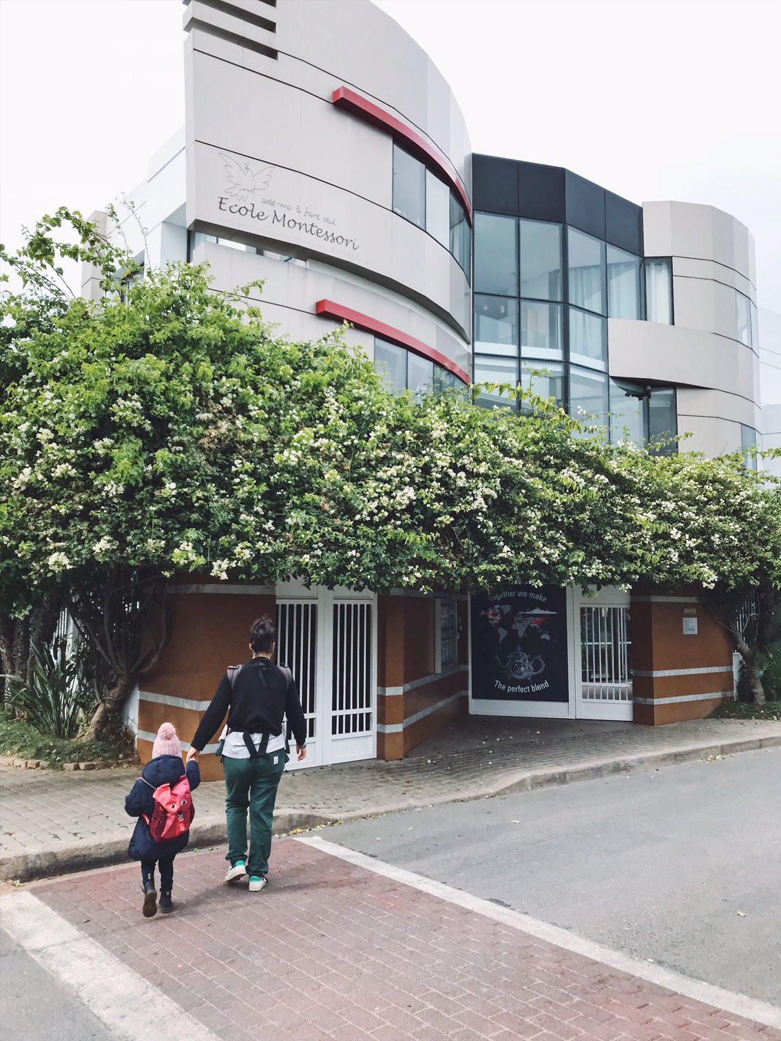 La Famille Qui Voyage à l'école Montessori Casablanca