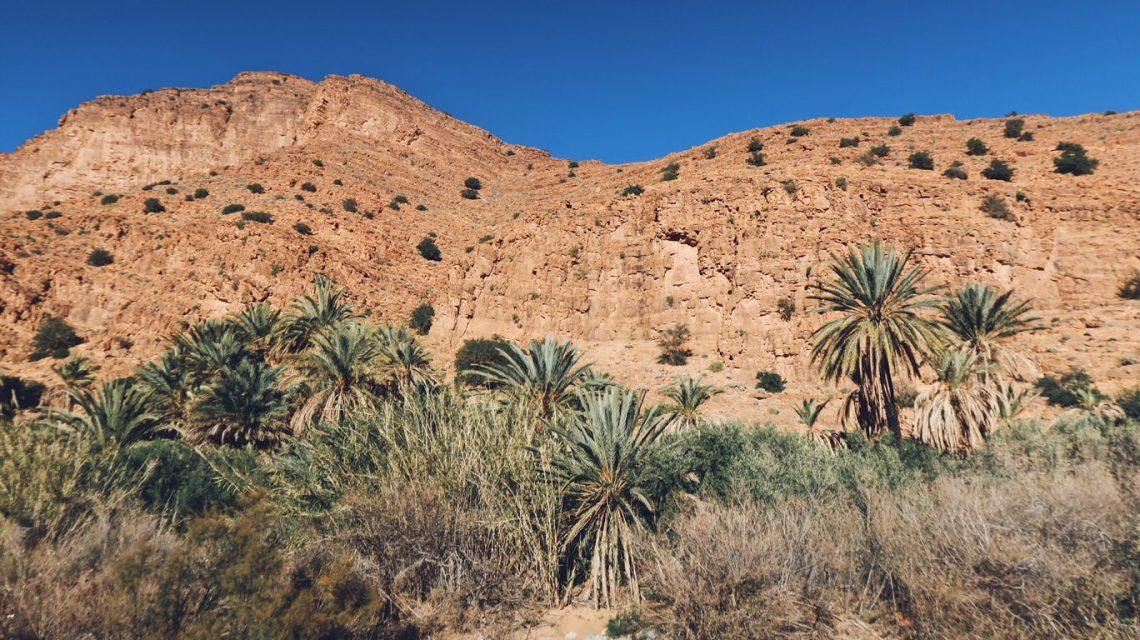 Voyage au Maroc montagnes aux gorges d'ait mansour