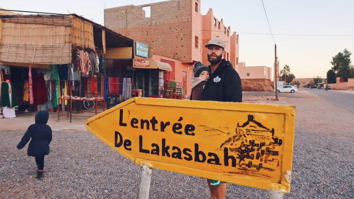 Voyage au Maroc Aït Ben Haddou, l'entrée de la Kasbah