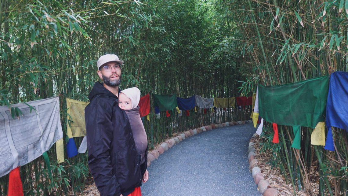 Voyage au Maroc Marrakech paul et rumi dans le passage tibetain du jardin andré heller