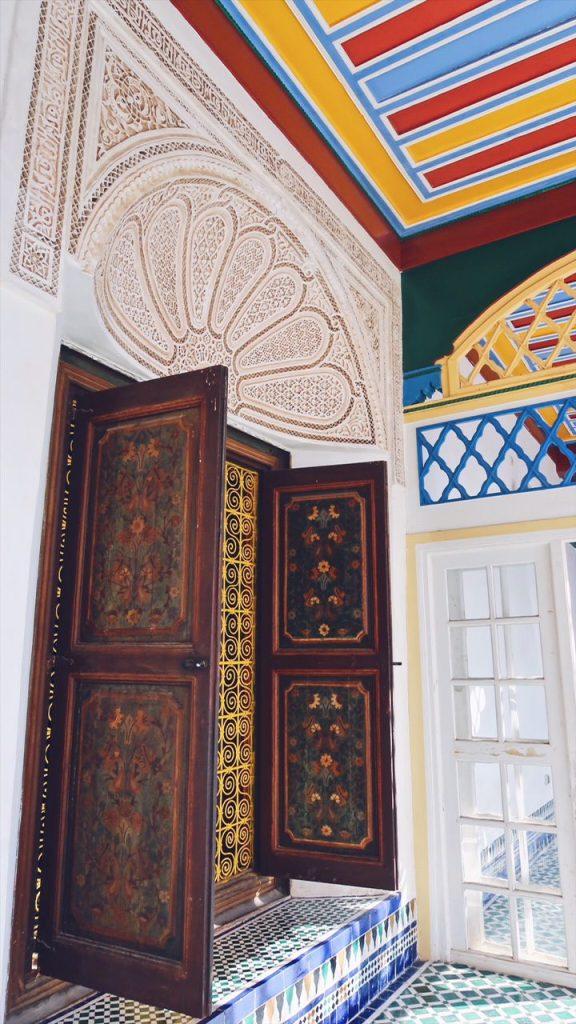 Voyage au Maroc les couleurs du palais bahia