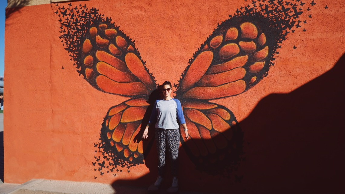 Voyage au Maroc Ouarzazate, Atlas Studios butterfly