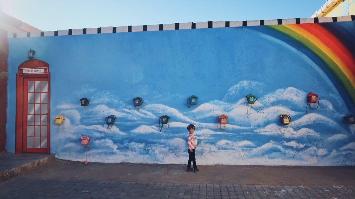 Voyage au Maroc Ouarzazate, Atlas Studio téléphones