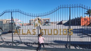Voyage au Maroc Atlas Studios entrée