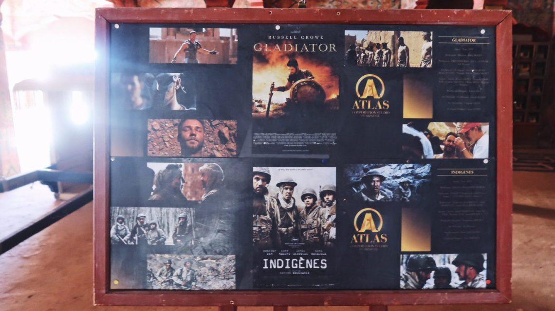 Voyage au Maroc Ouarzazate, Atlas Studio, gladiator