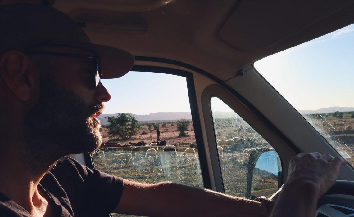 Voyage au Maroc Taroudant vers Tizi-n-Test Paul au volant