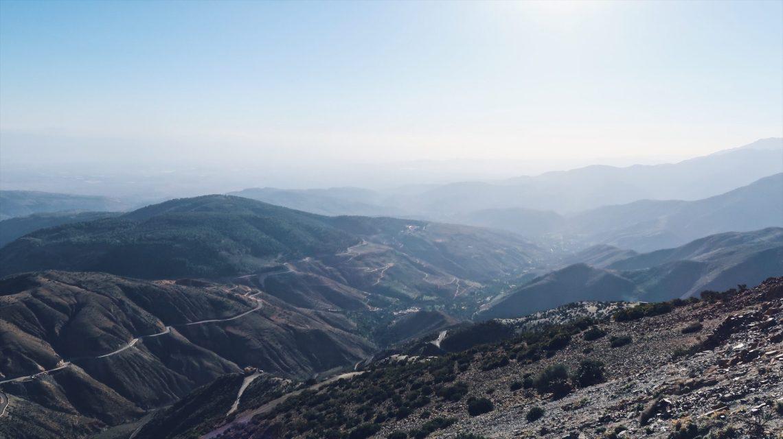 Voyage au Maroc le col du Tizi-n-Test routes et montagnes