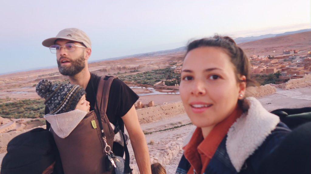 Voyage au Maroc Ait Ben Haddou famille