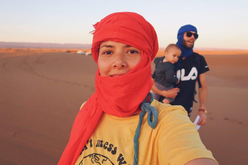 Voyage au Maroc Desert Sahara Erg Chegaga en famille