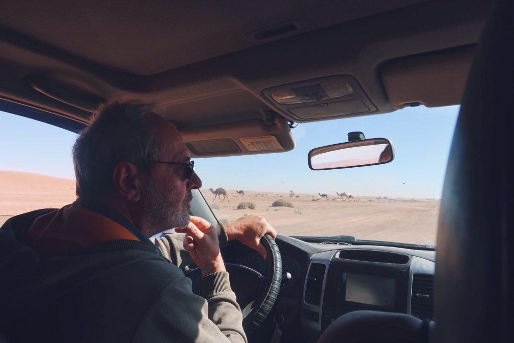 Voyage au Maroc Desert Sahara Erg Chegaga excursion 4x4 avec Luc