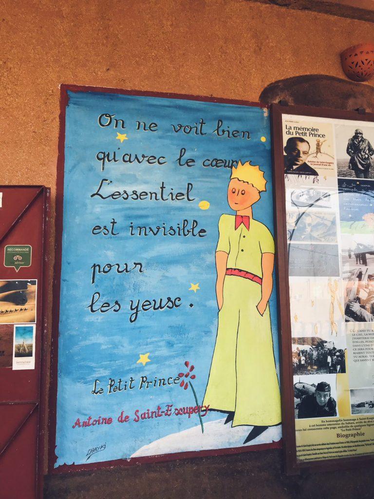 Voyage au Maroc Desert Sahara Erg Chegaga Mhamid café le petit prince